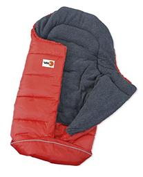 Eurosled Snow Baby Snuggly Bag, Red