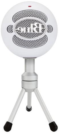 Blue Snowball iCE Condenser Microphone, Cardioid - White -