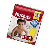 HUGGIES Snug & Dry Diapers Jumbo Pack
