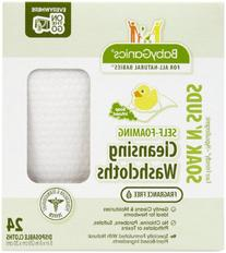 BabyGanics Soakin' Suds Disposible Washcloths - Fragrance