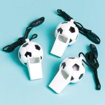 Soccer Whistles  Party Accessory