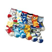 Toptim Baby Socks Non-skid Cotton Socks for Infants and