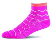 Sockwell Women's Plantar Ease Firm Compression Socks, Azalea
