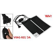 "SODIAL AC 220-240V 14W 11"" x 11"" Heating Warmer Pad Bed Mat"