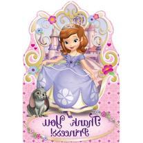 Disney Sofia The First Princess Birthday Party Postcard