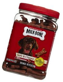 Milk-Bone Soft & Chewy Beef & Filet Mignon Recipe Dog Treats