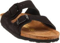 Women's Birkenstock 'Arizona' Soft Footbed Suede Sandal,