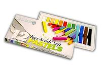Soft Pastel Chalks In 12 Popular Colors