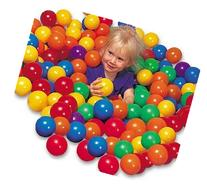 "Pack of 100 pcs 3"" Soft Ball Pit Balls - Phthalate Free"
