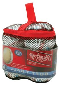 Rawlings Soft T-Ball 6-Ball Value Pack
