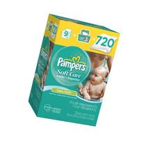 Pampers Pampers Softcare Baby Fresh Wipes 10x Box With Tub