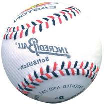 Easton Softstitch Incrediball Soft Baseball, White, 9-Inch