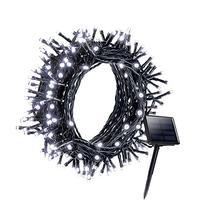 Litom Solar Outdoor 200 LED String Lights 72.18 ft Solar