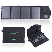 SUNKINGDOM™ 26W 2-Port DC USB Solar Charger with Portable