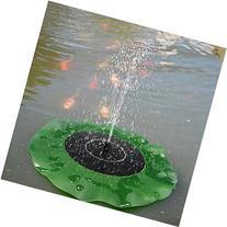 eBoTrade Solar Power Brushless Lotus Leaf Fountain