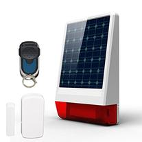 ERAY Solar Burglar House Home Alarm Wireless Security