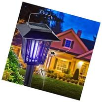 Solar Powered Zapper- Enhanced Outdoor Flying Insect Killer