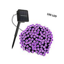 Solar String Lights,SOLMORE 55.8ft /17M 100 LED Solar