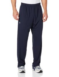 Russell Athletic Men's Big & Tall Solid Dri-Power Pant, Navy