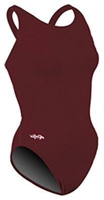 Dolfin Swimwear Solid Hp Back - Maroon 270, 26