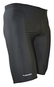 Adoretex Mens Solid Jammer Swim Suit  - Black - 32