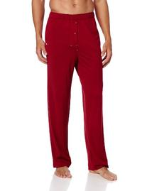 Tommy Bahama Men's Solid Knit Sleep Pant, Cardinal, X-Large