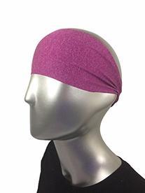 "Bondi Band Solid Moisture Wicking 4"" Headband, Forest Green"