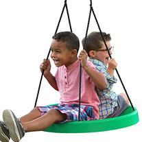 Comfortable Solid Seat Design Swing Set