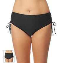 24th & Ocean® Plus Size Solid Swim Bottoms