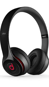 Beats Solo2 Wired On-Ear Headphones - Black