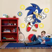 Sonic The Hedgehog Wall Decals Searchub