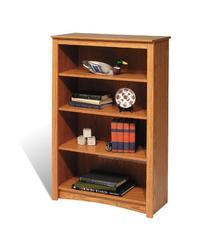 "Sonoma 48"" Bookcase - 4 shelf Oak"