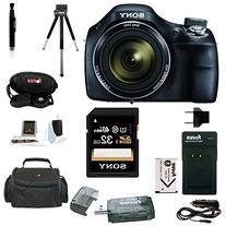 Sony Cyber-shot DSC-H400/B DSCH400 H400 Digital Camera with