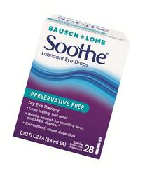 Bausch and Lomb Soothe Preservative-Free Long-Lasting