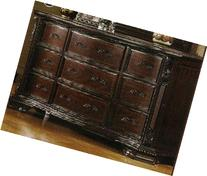 South Yorkshire Solid Wood Brown Cherry Finish Bedroom