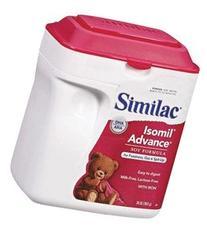 Similac® Soy Isomil® Powder 657g SimplePac - 6 CT