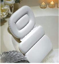 Stock Your Home Luxury Spa Bath Pillow Mat Features 3 Panel