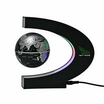 Babrit Spac Magnetic Levitation Floating World Map Globe