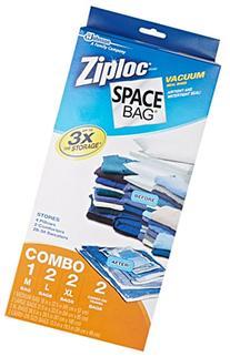 Space Bag Vacuum Seal Clear Storage Bags, Set of 7