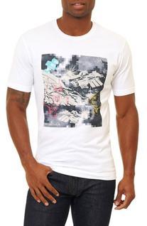 Men's Robert Graham Space Robots T-Shirt, Size Medium -