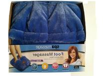 SpaMassage Foot Massager with Comfort Fabric