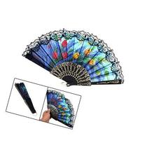 TOOGOO Spanish Hand Fan Decorative Design - Tulip
