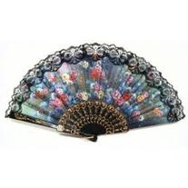 TOOGOO Spanish Hand Fan Decorative Design