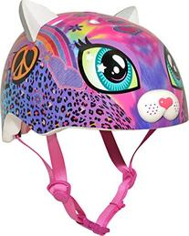 Sparklez Peace Love Kitty Helmet, Pink, Ages 3