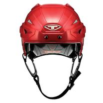 Tour Hockey Spartan Zx Hocley Helmet with No Cage, Red,