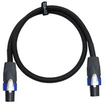 GLS Audio 3 feet Speaker Cable 12AWG Patch Cords - 3 ft