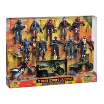 The Corps Special Forces Action Figures and Vehicle Deluxe