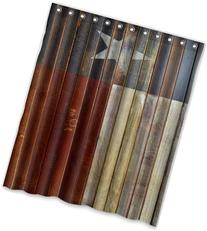 Special Design Western texas Star Waterproof Bathroom Fabric