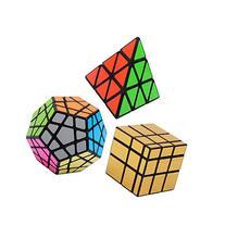 Bundle Pack Speed Cube Set of 3 Pyraminx Pyramid Speedcubing