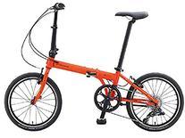Dahon Speed D8 Tangerine Folding Bike Bicycle
